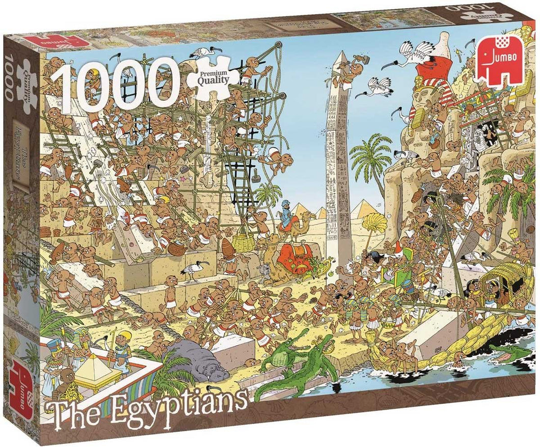 Pieces of History: The Egyptians 1000pc Puzzle