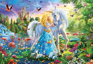 The Princess and the Unicorn 1000pc Puzzle