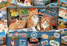 Load image into Gallery viewer, Travelling Kittens 200pc Puzzle