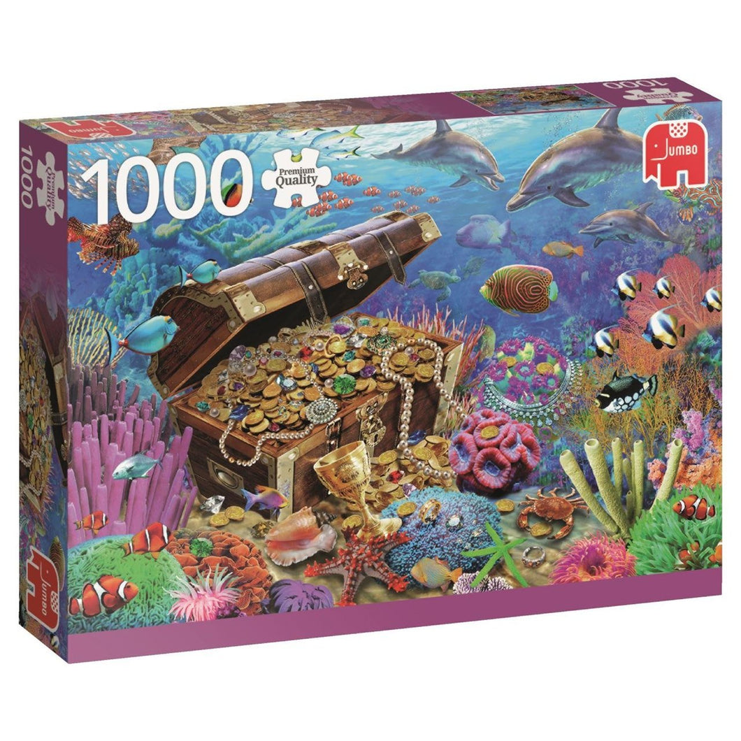 Underwater Treasures 1000pc Puzzle