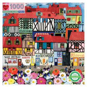 Whimsical Village 1000pc Puzzle