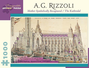 Mother Symbolically Recaptured by A. G. Rizzoli 1000pc Puzzle
