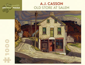 Old Store at Salem by A.J. Casson 1000pc Puzzle