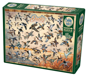 Ducks of North America 1000pc Puzzle