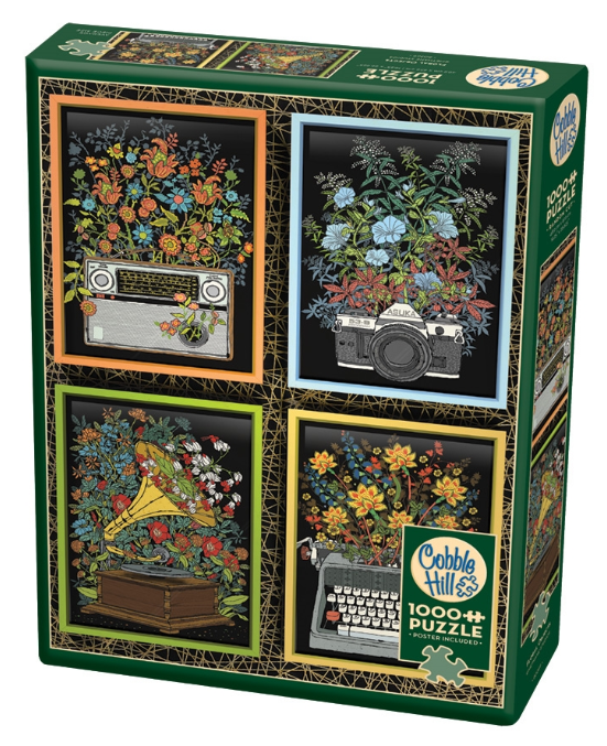 Floral Objects 1000pc Puzzle