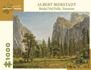 Bridal Veil Falls, Yosemite by Albert Bierstadt 1000pc Puzzle