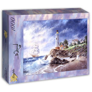 Anchor Cove by Dennis Lewan 1000pc Puzzle