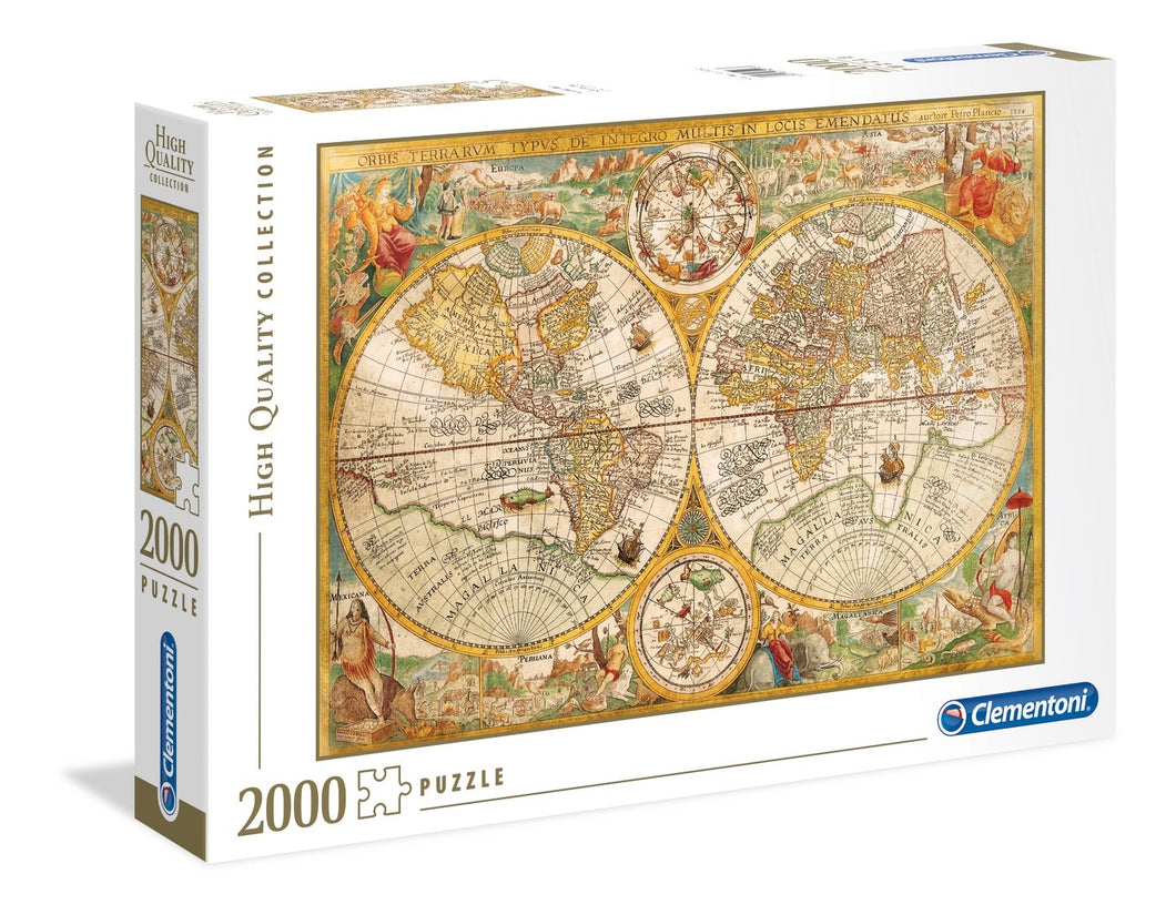 Ancient Map 2000pc Puzzle