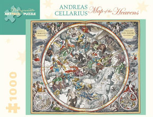 Map of the Heavens by Andreas Cellarius 1000pc Puzzle