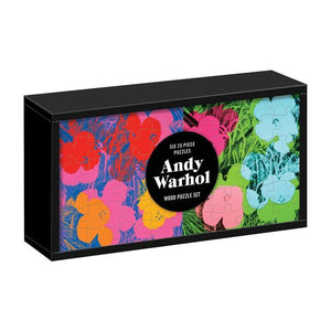 Andy Warhol Wooden Puzzle Set (6 x 25pc)