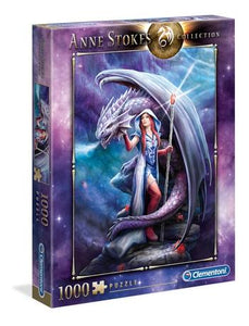 Anne Stokes Collection: Dragon Mage 1000pc Puzzle