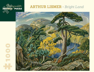 Bright Land by Arthur Lismer 1000pc Puzzle