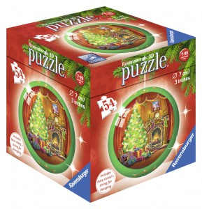 Christmas Puzzle-Ball 56pc 3D Puzzle