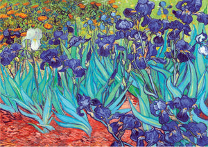Irises by Van Gogh 1000pc Puzzle