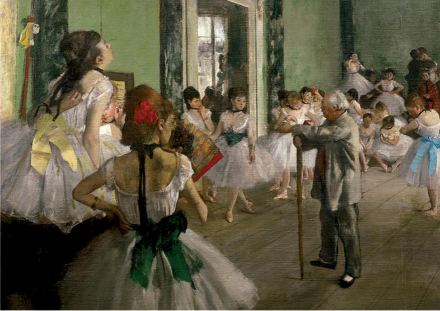 The Dancing Class by Degas 1000pc Puzzle