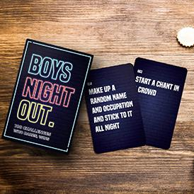 100 Pop Culture Questions: Boys Night Out