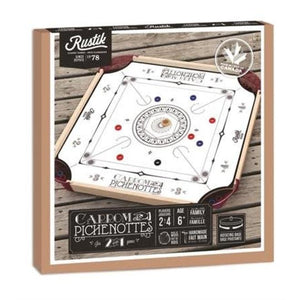 Carrom & Pichenotte 2-in-1 Game
