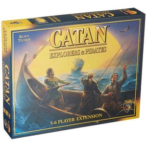 Catan 5-6 Player Extension: Explorers and Pirates