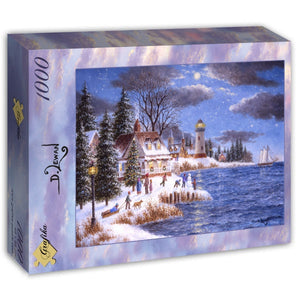 A Time to Celebrate by Dennis Lewan 1000pc Puzzle