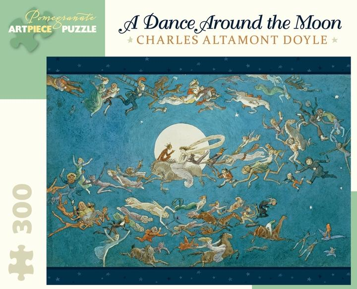 A Dance Around the Moon by Charles Altamont Doyle 300pc Puzzle