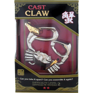 Claw Cast Metal Puzzle: Level 2
