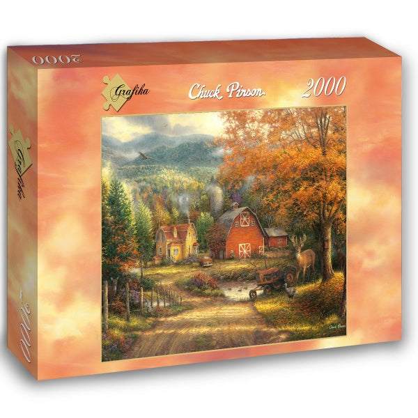 Country Roads Take Me Home by Chuck Pinson 2000pc Puzzle