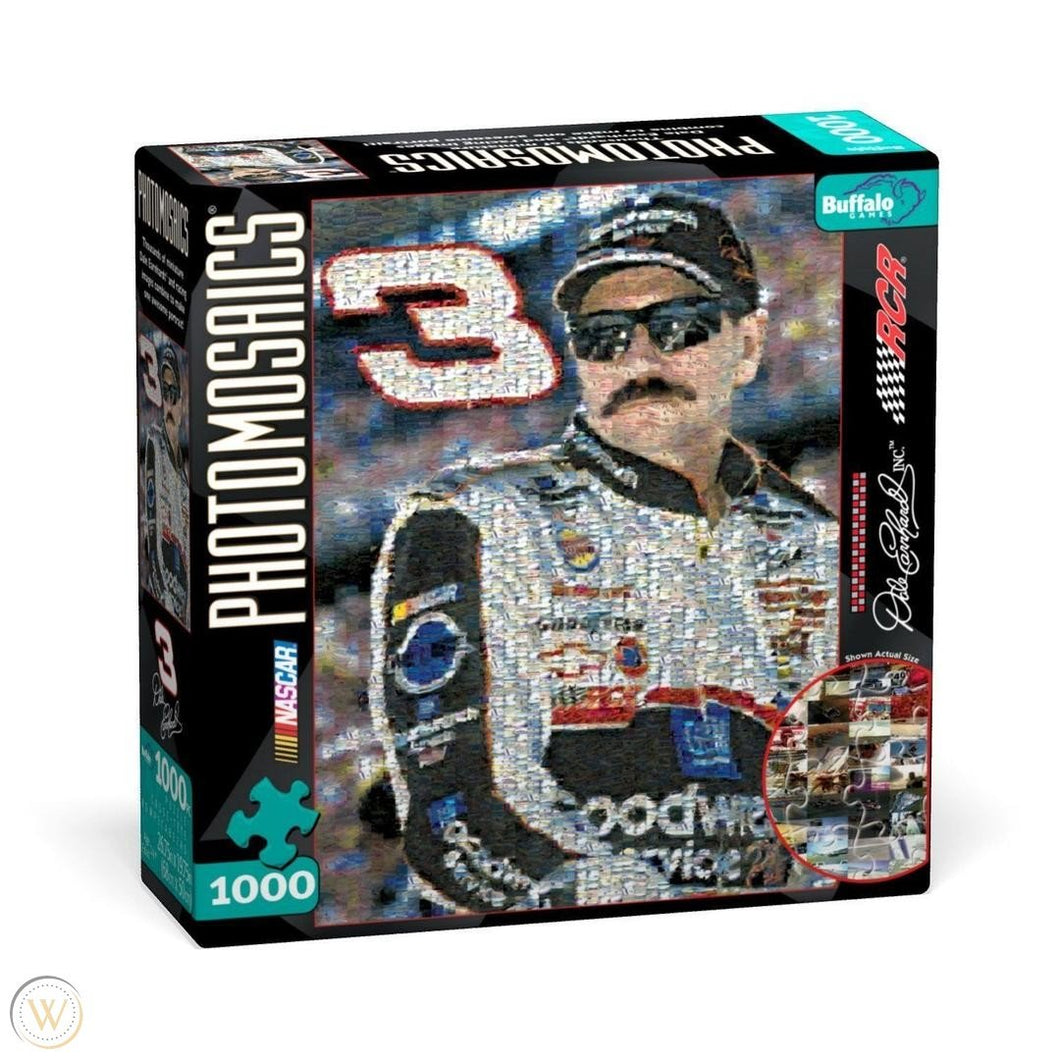 Photomosaics: Dale Earnhardt 1000pc Puzzle