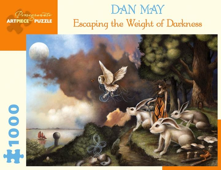 Escaping the Weight of Darkness by Dan May 1000pc Puzzle