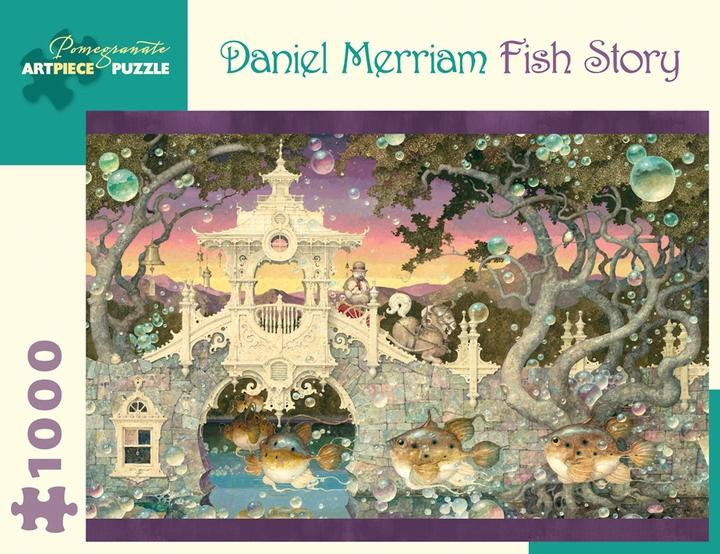Fish Story by Daniel Merriam 1000pc Puzzle