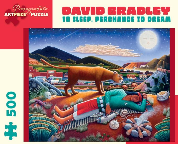 To Sleep, Perchance to Dream by David Bradley 500pc Puzzle