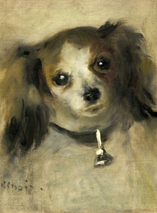 Head of a Dog, 1870 by Auguste Renoir 2000pc Puzzle