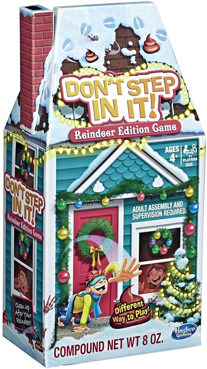 Don't Step In It!: Reindeer Edition Game