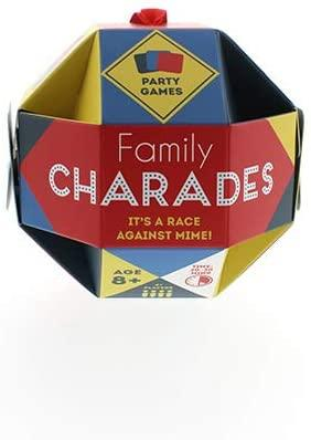 Family Charades Festive Bauble Card Game