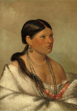 Load image into Gallery viewer, The Female Eagle Shawano, 1830 by George Catlin 1000pc Puzzle