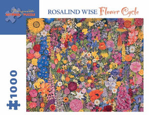 Flower Cycle by Rosalind Wise 1000pc Puzzle