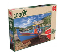 Load image into Gallery viewer, Greek Lake 1000pc Puzzle