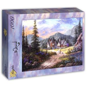 Hills of Bavaria by Dennis Lewan 1000pc Puzzle