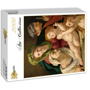 The Holy Family, 1527-8 by Agnolo Bronzino 2000pc Puzzle