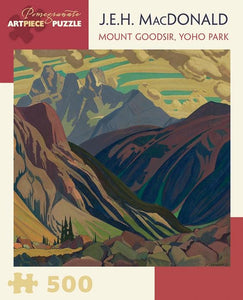 Mount Goodsir, Yoho Park by J.E.H. MacDonald 500pc Puzzle