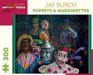 Puppets & Marionettes by Jay Burch 300pc Puzzle