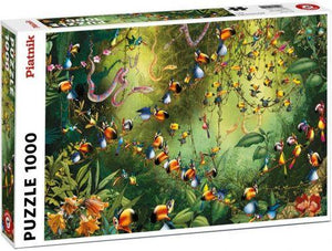 Jungle Birds 1000pc Puzzle
