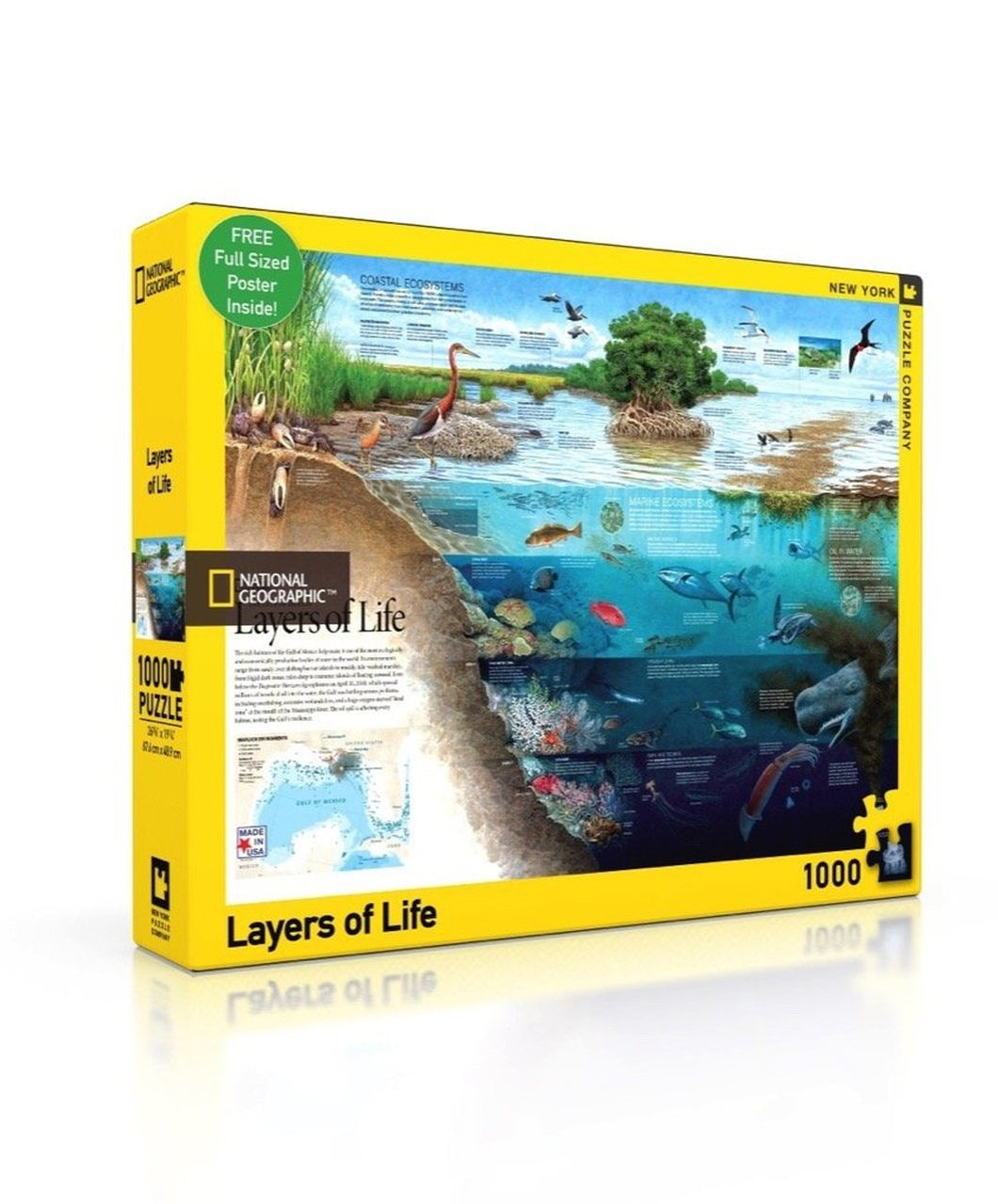 National Geographic: Layers of Life 1000pc Puzzle