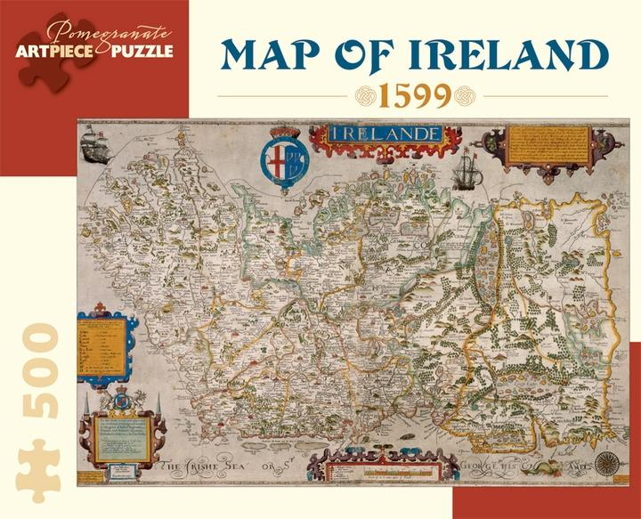 Map of Ireland, 1599 500pc Puzzle