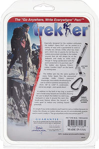 Trekker Space Pen - Silver Barrel