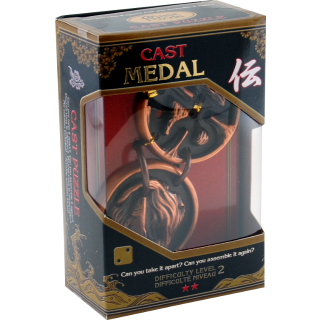 Medal Cast Metal Puzzle: Level 2