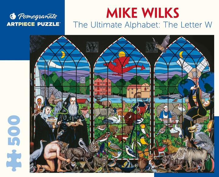 The Ultimate Alphabet: The Letter W by Mike Wilks 500pc Puzzle