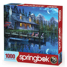Load image into Gallery viewer, Moonlit Night 1000pc Puzzle