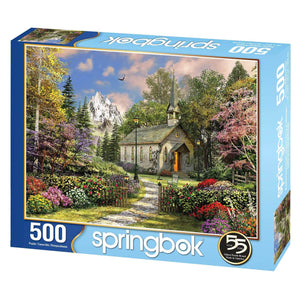 Mountain View Chapel 500pc Puzzle