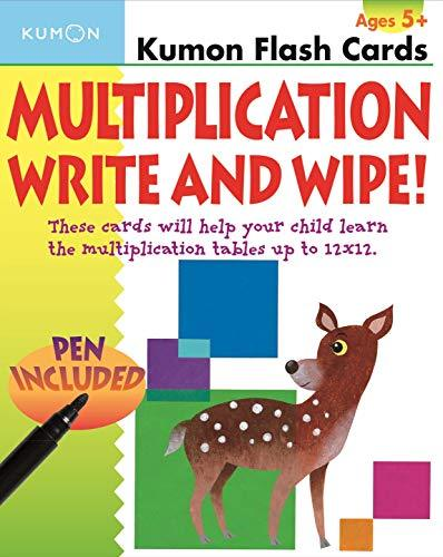 Flash Cards - Multiplication Write and Wipe!: Ages 2+