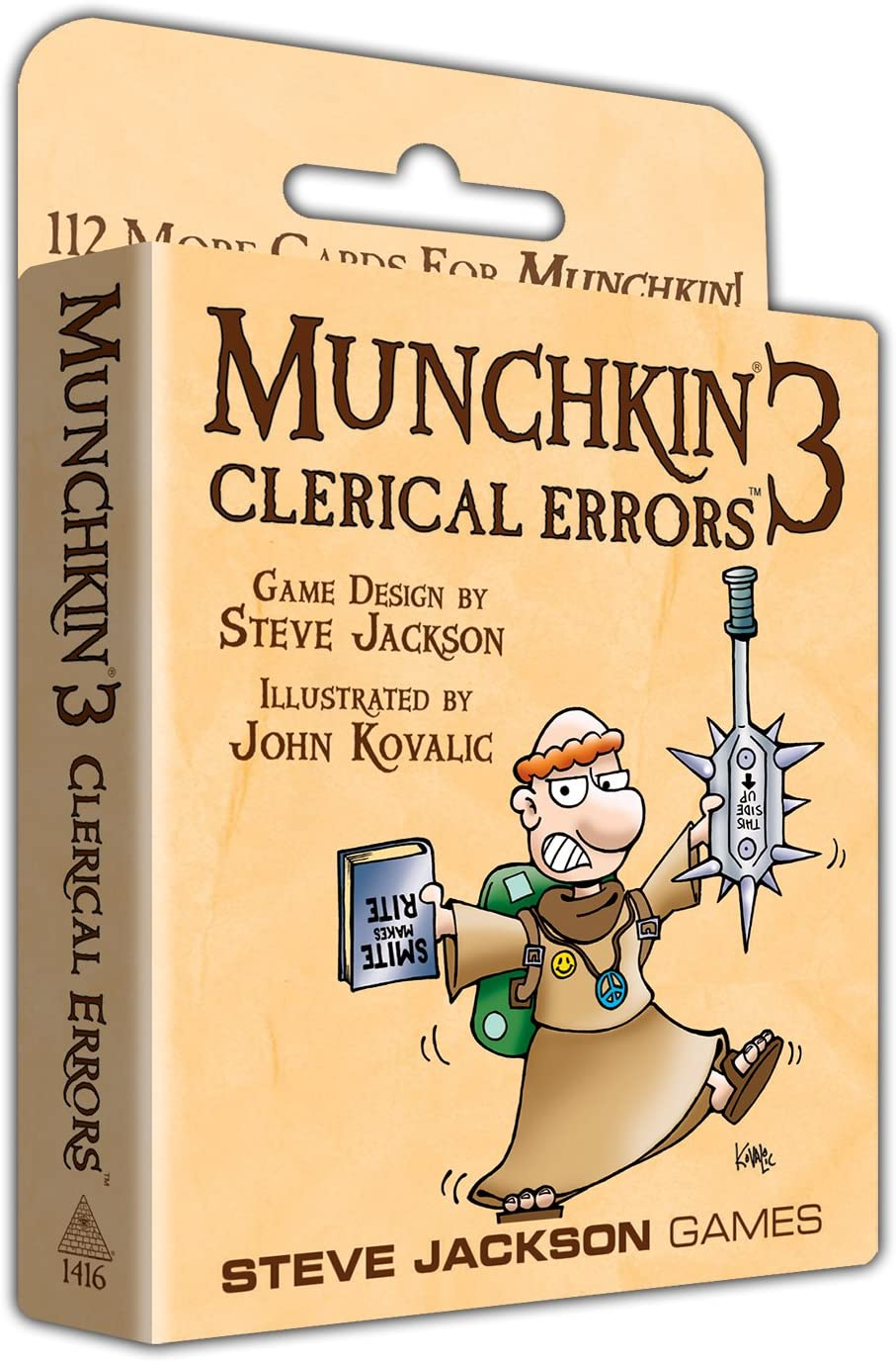 Munchkin Expansion 3: Clerical Errors